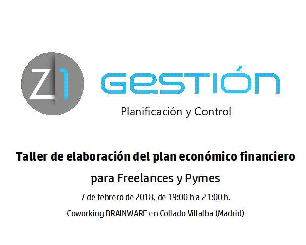 Taller Planificación Financiera Z1 Gestión